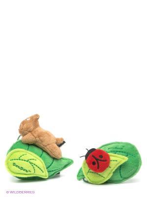 Набор держателей штор Pets@work. Цвет: зеленый, бежевый, красный