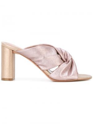 Мюли Sabbia Jean-Michel Cazabat. Цвет: розовый и фиолетовый
