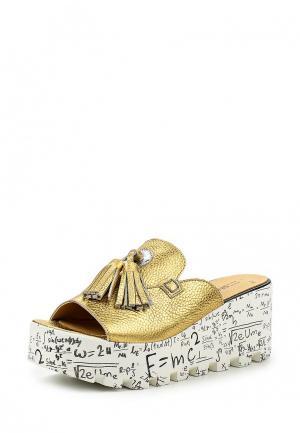 Сабо Grand Style. Цвет: золотой