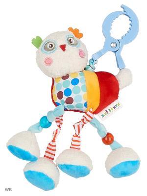 Подвеска с вибрацией Совёнок Бонни Жирафики. Цвет: голубой, красный, оранжевый, бежевый