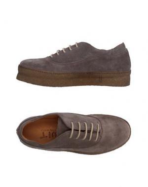 Низкие кеды и кроссовки UIT. Цвет: серый