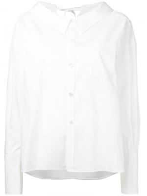 Rear bow detail shirt G.V.G.V.. Цвет: белый