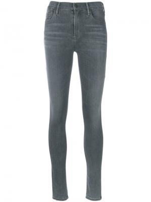 Выцветшие джинсы скинни Citizens Of Humanity. Цвет: серый