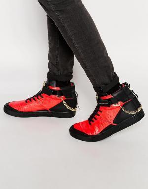 Cayler & Sons Высокие кроссовки Hamachi. Цвет: красный