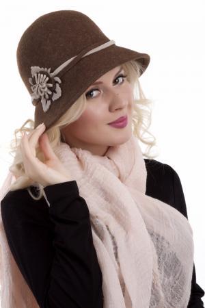 Шляпа Wegener. Цвет: коричневый