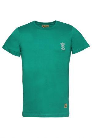 Футболка Z-Brand. Цвет: зеленый