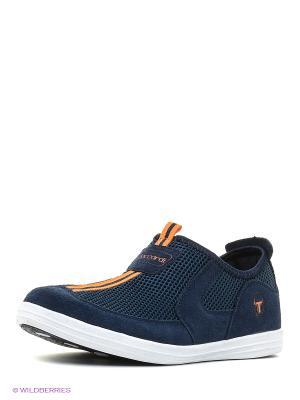 Ботинки Kari. Цвет: темно-синий