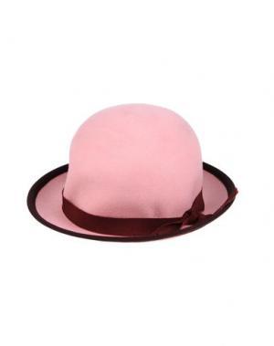 Головной убор MIMISOL. Цвет: розовый