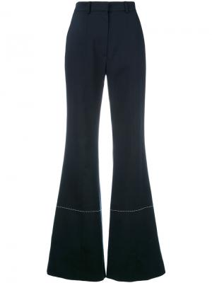 Расклешенные брюки Sonia Rykiel. Цвет: синий