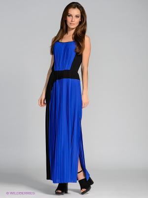 Платье Stefanel. Цвет: синий, черный