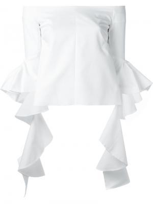 Блузки Со Спущенными Плечами Купить