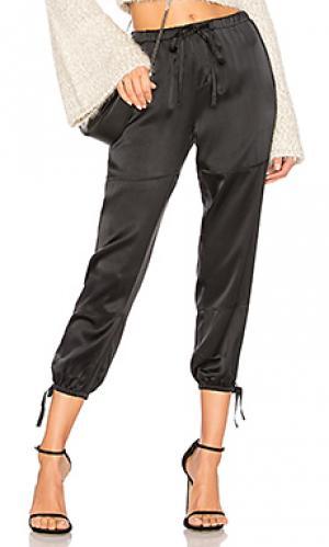 Зауженные брюки dyre Joie. Цвет: черный
