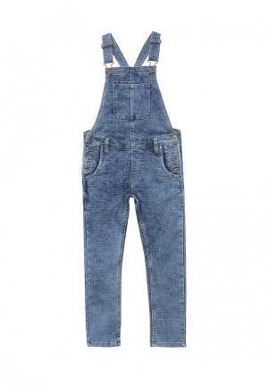 Комбинезон джинсовый Pepe Jeans. Цвет: синий