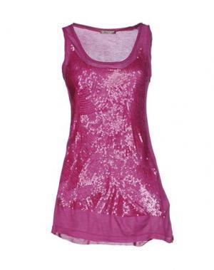 Топ без рукавов TOY G.. Цвет: розовато-лиловый