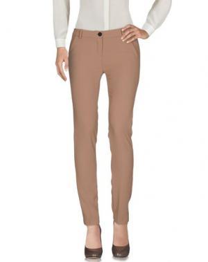 Повседневные брюки BOUTIQUE de la FEMME. Цвет: верблюжий