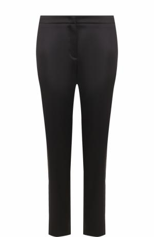 Укороченные однотонные брюки прямого кроя Escada. Цвет: черный