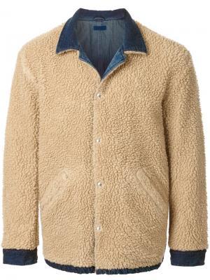 Джинсовая куртка Simon Miller. Цвет: коричневый