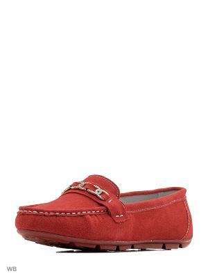 Мокасины Sinta Gamma. Цвет: красный