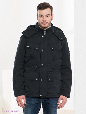 Куртка TOM FARR. Цвет: темно-синий, серебристый