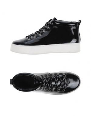 Высокие кеды и кроссовки ATELJÉ 71. Цвет: черный