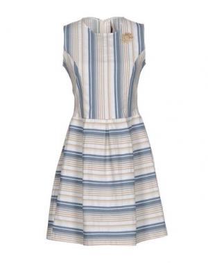 Короткое платье EMMA&GAIA. Цвет: слоновая кость
