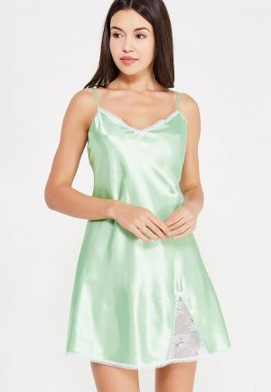 Сорочка ночная Belweiss. Цвет: зеленый