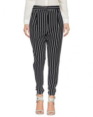 Повседневные брюки BERNA. Цвет: черный