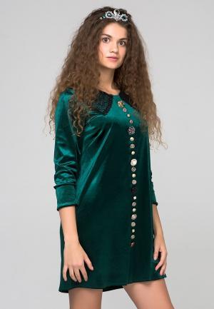 Платье HandyWear. Цвет: зеленый
