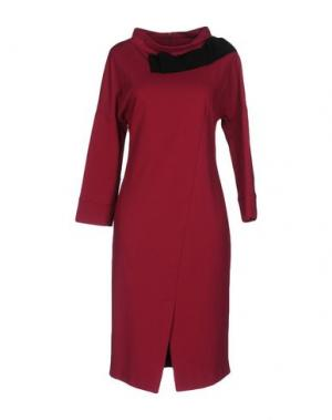 Платье до колена ANNA RACHELE. Цвет: пурпурный