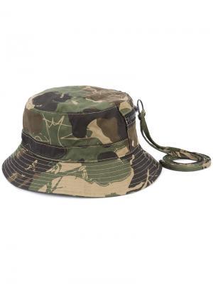 Камуфляжная шляпа Haculla. Цвет: зелёный