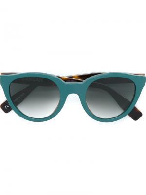 Солнцезащитные очки Sunetra Zanzan. Цвет: зелёный
