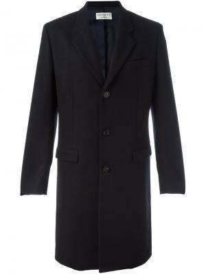 Классическое пальто Éditions M.R. Цвет: синий