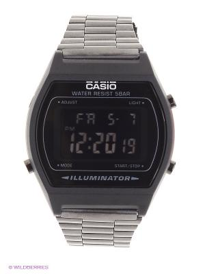Часы Casio B640WB-1B. Цвет: черный
