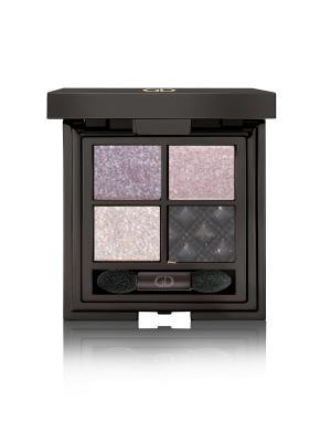 Тени для век четырехцветные IDYLLIC SOFT SATIN  (WITHOUT MIRROR) No.31 GA-DE. Цвет: сиреневый, фиолетовый, черный, серебристый