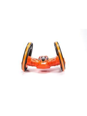 Машинка радиоуправляемая трюковая, 2 колеса Blue Sea. Цвет: оранжевый