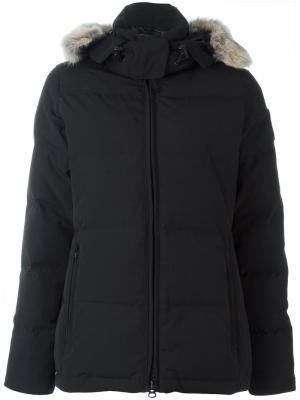 Парка-пуховик Chelsea с капюшоном Canada Goose. Цвет: чёрный