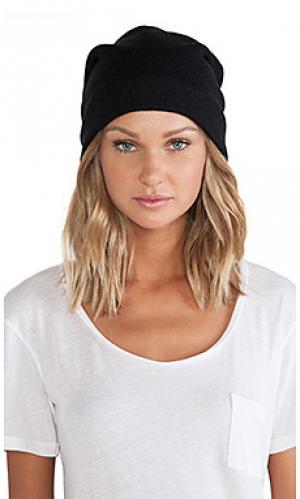 Шляпа Plush. Цвет: черный