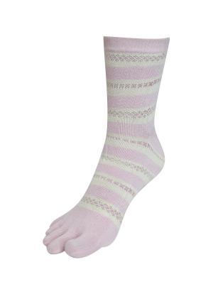 Носки Master Socks. Цвет: голубой, бледно-розовый, сиреневый