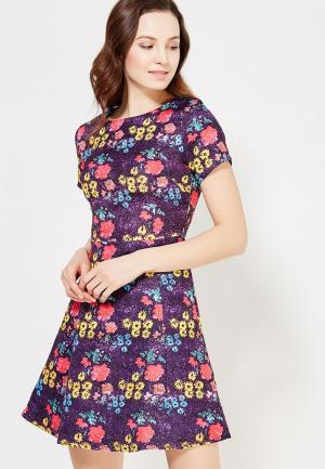 Платье Taya. Цвет: фиолетовый