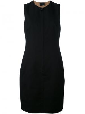 Платье-шифт Akris. Цвет: чёрный