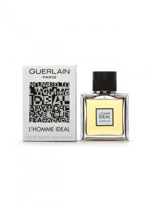 L homme Ideal men edt 50 ml GUERLAIN. Цвет: золотистый, черный