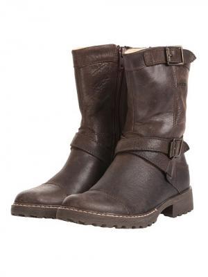 Ботинки Richter. Цвет: коричневый