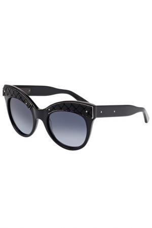 Солнцезащитные очки Bottega Veneta. Цвет: 001