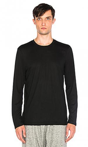 Рабочая рубашка с длинным рукавом Brandblack. Цвет: черный