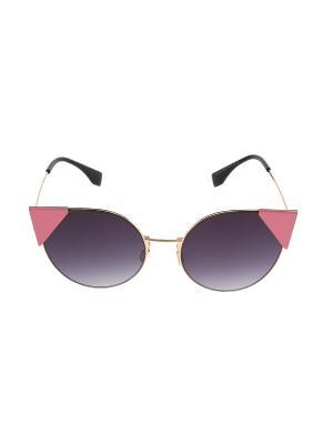 Очки солнцезащитные Migura. Цвет: розовый, золотистый, синий