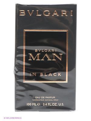 Туалетная вода Bvlgari Man In Black, 100 мл. Цвет: черный