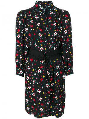 Платье-рубашка с цветочным принтом Marc Jacobs. Цвет: многоцветный