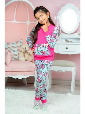 Пижама KitFox. Цвет: фуксия