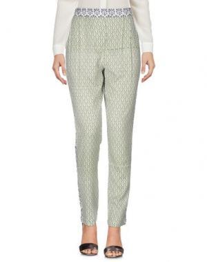 Повседневные брюки OPALINE. Цвет: зеленый