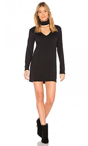 Платье свитер garrote Bailey 44. Цвет: черный